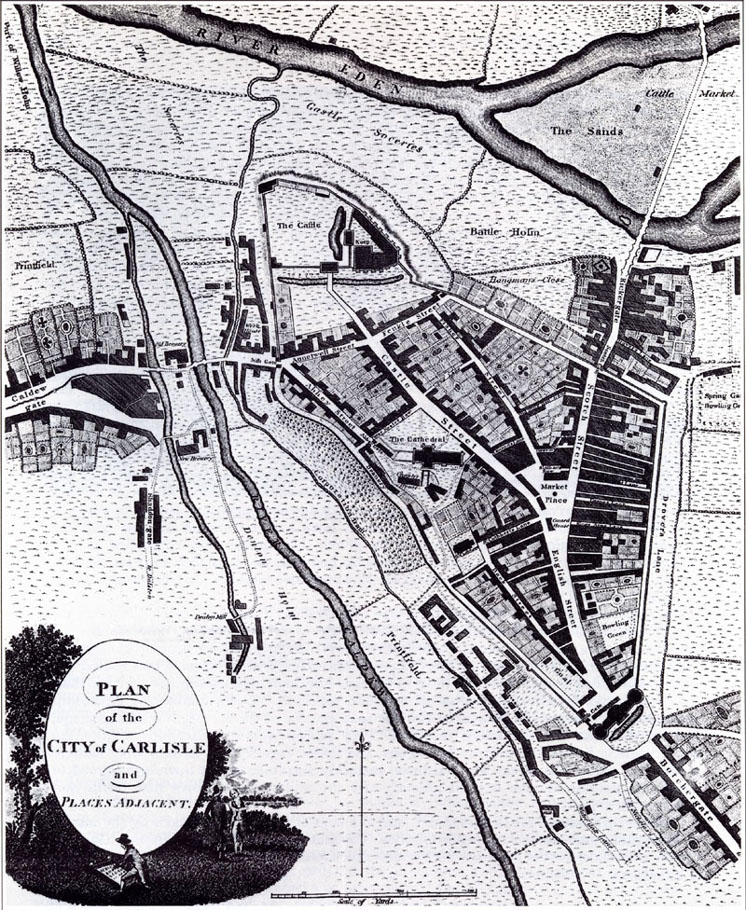 Carlisle Map 1790