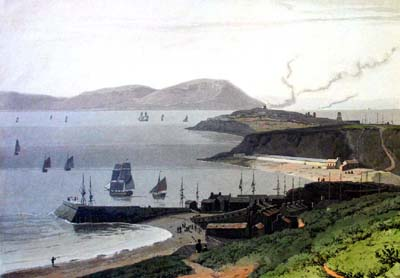 Harrington Harbour circa 1800