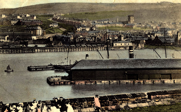 Whitehaven Harbour 1900