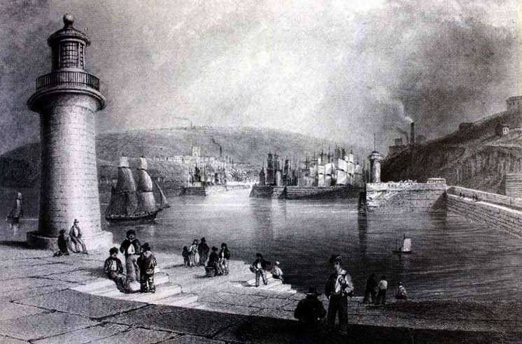 Whitehaven Harbour 1840