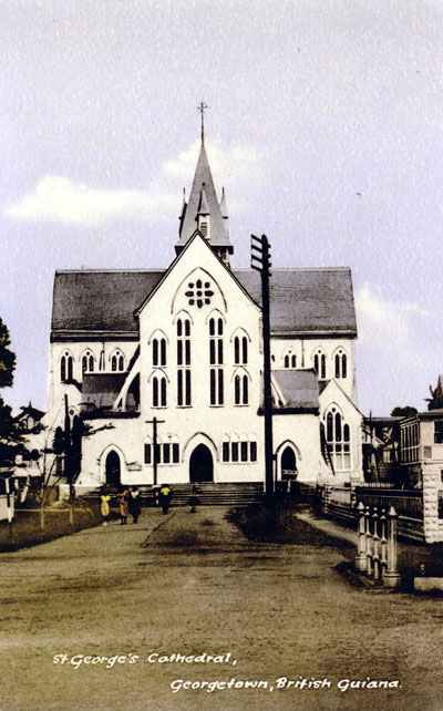 St George's Cathedral, Georgetown, Guiana
