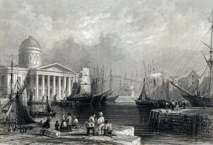 Liverpool Canning Dock 1840