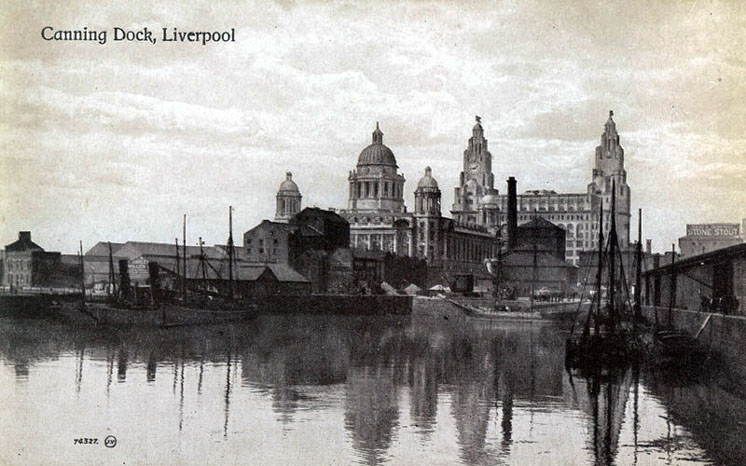 Liverpool Canning Dock circa 1900