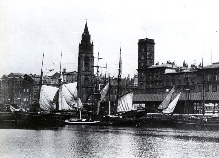 Liverpool Georges Dock circa 1900